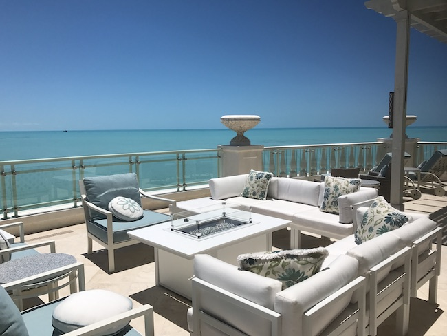 The Shore Club penthouse balcony