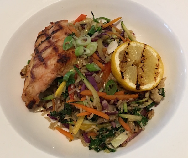 Julienne Vegetable Stir Fry with Chicken at Canyon Ranch Lennox